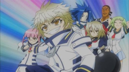 medaka_box_abnormal-08-myouri_unzen-harigane_onigase-kei_munakata-myouga_unzen-nekomi_nabeshima-shigusa_takachiho-team_loser-character_reapperances