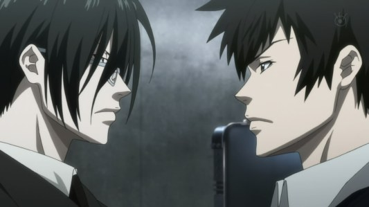 psycho_pass-09-kougami-ginoza-detective-inspector-enforcer-latent_criminal-partners-facing_off-enemies