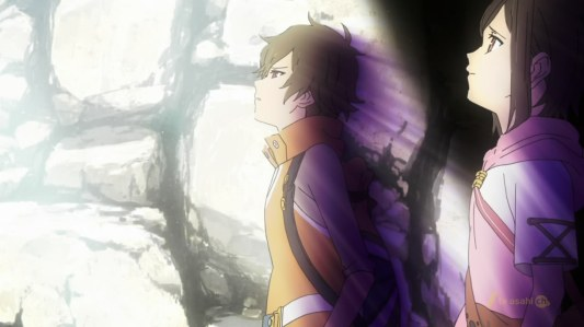 shin_sekai_yori-06-satoru-saki-light-escape-underground-looking_up