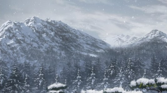 shin_sekai_yori-13-winter-snow-ice-mountains-forest-rural-beautiful-gorgeous-scenic