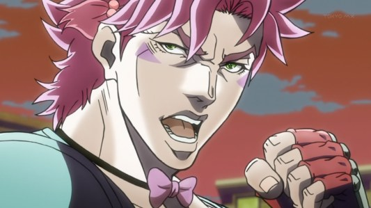 jojo's_bizarre_adventure-14-caesar_zeppeli-italian-ripple_fighter-colors-pink_hair-dramatic