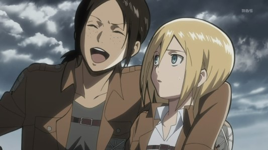 shingeki_no_kyojin-06-ymir-christa-laughing-comedy-friendship-scouting_team-lesbian_lovers