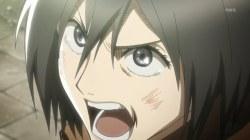 shingeki_no_kyojin-07-mikasa-yelling-emtion-rage