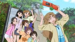 tamayura_more_aggressive-07-everyone-sayomi- chihiro-maon-norie-kaoru-tomo-fu-shioiri-photo-phone-friendship