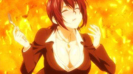 shokugeki_no_souma-01-yaeko-breasts-cleavage-fanservice-food_orgasm_scene