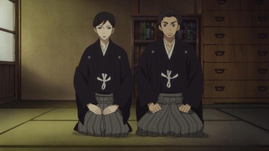 shouwa_genroku_rakugo_shinjuu-03-yakumo-sukeroku-traditional_japanese_clothes-hakama-kimono